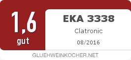 Testsiegel: EKA 3338 Clatronic